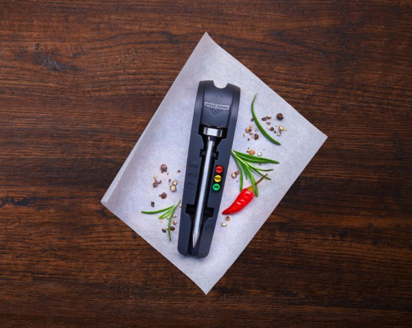 SteakChamp Steak-Thermometer 3-color LED